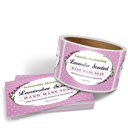 Product Labels - Create Custom Soap Labels with Templates by